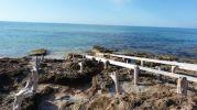 Rampas de los varaderos en Es Valencians, en Formentera