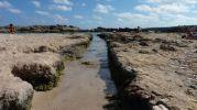 Pequeñas zonas de baño curiosas en Es Pujols