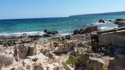 Rampa y varadero en la platja d'es Carnatge