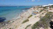 Playa de Es copinyar, último tramo de Es Migjorn Formentera