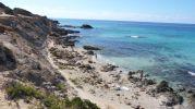 Extremo este de la playa Es Copinyar Formentera