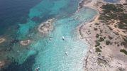 Imagen aérea de otro lado de Cala de Bocs