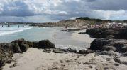 Vista de la playa desde el lado norte