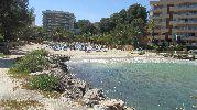 uno de los accesos a la playa