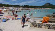 playa bastante extensa
