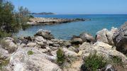 playa vista desde las rocas