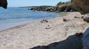 zona rocosa al este de la playa