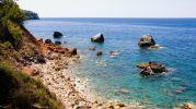 preciosas vistas del mar abierto