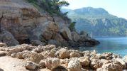 Zona rocosa en Sa Foradada