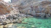 Acceso al mar por escaleras en Sa Foradada
