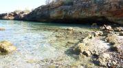 playa principalmente rocosa
