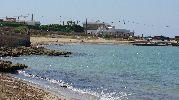 vista norte de la playa