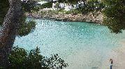agua de color azul verdoso