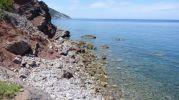 Zona de acceso a playa sa Pedra llarga