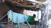 Caseta varadero aún en uso en Cala Codolar