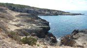 Costa Es Ram con casetas varadero al fondo