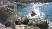 Rocas del acantilado de Es Ram Formentera