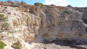 Acantilado Es Ram en Formentera