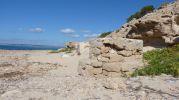 Edificación parecida a un pozo en Es Ram, Formentera