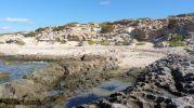 Playa en Es Ram vista desde el mar