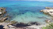 Imagen del agua a pie de playa