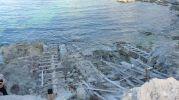 Rampas de las casetas varadero de Punta de s'Anfossol