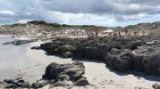 Vista de la playa de sa roqueta desde un extremo más al norte