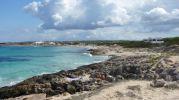 Platja de ses Canyes en Formentera