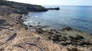 Desembocadura del Torrent d'es Arbocers en el Caló d'es Mort