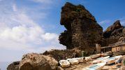 espectacular roca con una forma muy particular