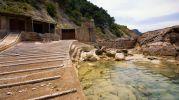 antigua rampa bara subir las barcas
