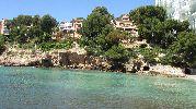 casas a pocos metros de la playa