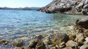 Aguas cristalinas en Cala Na Llóbriga