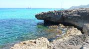 rocas erosionadas por las olas
