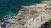 camino al lado del mar