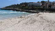 vista oeste de la playa