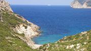 playa muy pequeña pero con magníficas vistas