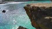 roca para saltar al mar
