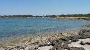 playa por la tarde