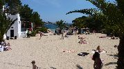playa muy turística