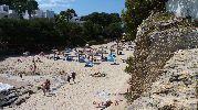 playa muy larga