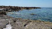 playa bastante solitaria y apertada