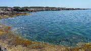 playa con preciosa agua