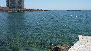 agua de un color verdoso